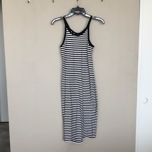 Old Navy Dresses - Old Navy High Neck Fitted Midi Dress